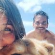"""Elodie de """"Mariés au premier regard 3"""" heureuse à Arcachon avec son chéri, le 27 mai 2019"""