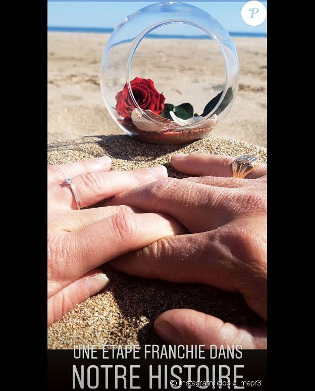 """Elodie de """"Mariés au premier regard 3"""" fiancée, photo Instagram du 18 juillet 2019"""