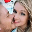 """Elodie de """"Mariés au premier regard 3"""" complice avec son petit ami, le 18 juillet 2019"""