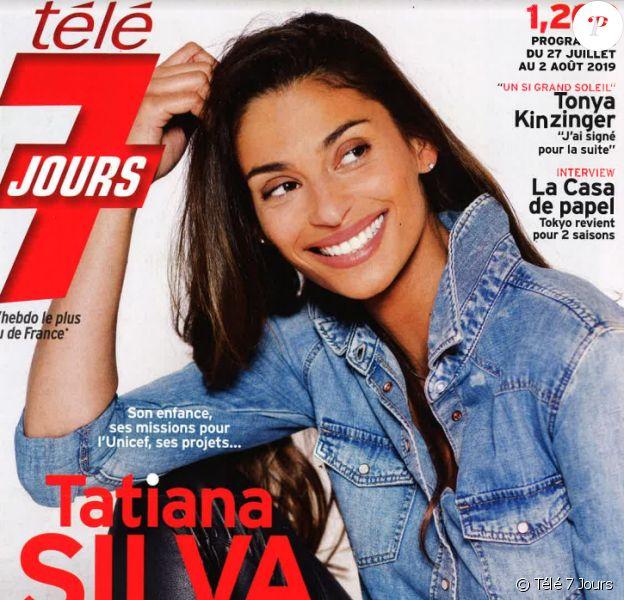 """Magazine """"Télé 7 Jours"""", en kiosques lundi 22 juillet 2019."""