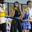 """Salma Hayek, Lia McHugh, Dong-seok Ma - """"Marvel Studios"""" - 3ème jour - Comic-Con International 2019 au """"San Diego Convention Center"""" à San Diego, le 20 juillet 2019."""