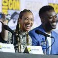 """Sonequa Martin-Green et David Ajala - """"Star Trek: Discovery - 3ème jour - Comic-Con International 2019 au """"San Diego Convention Center"""" à San Diego, le 20 juillet 2019."""