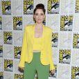 """Chyler Leigh - """"Supergirl"""" - 3ème jour - Comic-Con International 2019 au """"San Diego Convention Center"""" à San Diego, le 20 juillet 2019."""