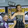 """Taika Waititi, Natalie Portman - """"Marvel Studios"""" - 3ème jour - Comic-Con International 2019 au """"San Diego Convention Center"""" à San Diego, le 20 juillet 2019."""