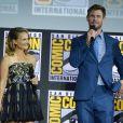 """Natalie Portman et Chris Hemsworth - """"Marvel Studios"""" - 3ème jour - Comic-Con International 2019 au """"San Diego Convention Center"""" à San Diego, le 20 juillet 2019."""