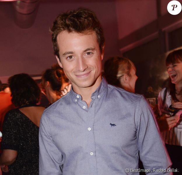 Semi-exclusif - Hugo Clément lors de soirée de lancement de Warner TV en France, à Paris, France, le 9 novembre 2017. © Rachid Bellak/Bestimage