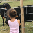 Aliyah, la fille de Mondir et Inès, sur Instagram, le 21 juillet 2019