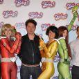 La Première du film d'animation Totally Spies le 28 juin 2009 au Grand Rex à Paris ave cle réalisateur Pascal Jardin