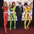 La Première du film d'animation Totally Spies le 28 juin 2009 au Grand Rex à Paris avec Karl Lagerfeld