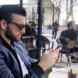 Aymeric Bonnery dans Paris - Instagram, 16 mars 2018