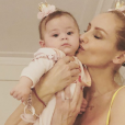Adriana Karembeu avec sa fille Nina, le 26 mai 2019, sur Instagram, le