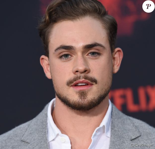 "Dacre Montgomery à la première de ""Stranger Things 2"" au Westwood Theater à Los Angeles, le 26 octobre 2017. © Chris Delmas/Bestimage"