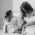 Kim Kardashian et sa fille Chicago, le 25 juillet 2019 sur Instagram.