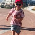 Malo, le fils de Samuel Etienne, le 27 juillet 2019.