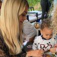 Mélanie Da Cruz et Anthony Martial ont célébré le premier anniversaire de leur fils Swan, le 27 juillet 2019 à Itteville, en Essonne.