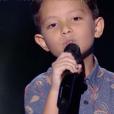 """Natihei dans """"The Voice Kids 6"""" sur TF1, le 23 août 2019."""