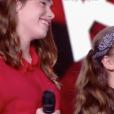 """Mini Div dans """"The Voice Kids 6"""", le 23 août 2019."""