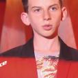 """Enzo dans """"The Voice Kids 6"""" vendredi 23 août 2019 sur TF1."""