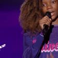 """Lisa dans """"The Voice Kids 6"""" vendredi 23 août 2019 sur TF1."""