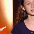 """Eva dans """"The Voice Kids 6"""" vendredi 23 août 2019 sur TF1."""