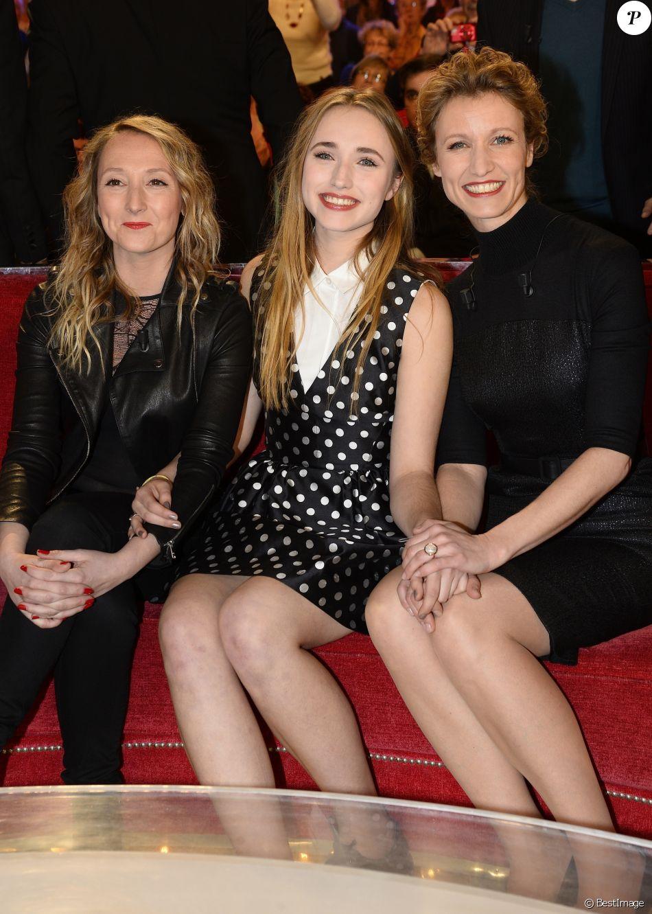 Audrey Lamy, Chloé Jouannet et sa mère Alexandra Lamy
