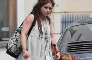 Helena Bonham Carter : sa fille copie son look  très excentrique et le résultat est... (réactualisé)