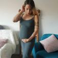 """Cécilia de """"Koh-Lanta"""" enceinte et radieuse sur Instagram, le 4 juin 2019"""