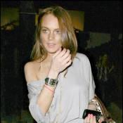 Lindsay Lohan : coiffeur, petite robe, au top pour l'homme de sa vie !