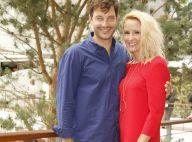 Elodie Gossuin et Bertrand Lacherie : Craquants amoureux au coucher du soleil