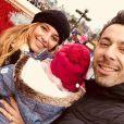 Laetitia Milot à Disney avec sa fille Lyana et Badri - Instagram, 17 décembre 2018
