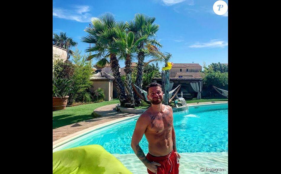 Keen'V et Cauet passent quelques jours de vacances ensemble dans le sud de la France (Août 2019).