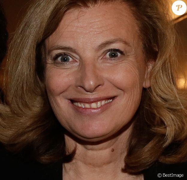 """Valérie Trierweiler - Soirée """"Before Cannes"""" by FGC sur le bateau """"Le Signature"""" à Paris.. Le 26 mars 2019."""