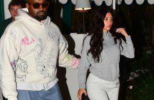 Kim Kardashian : En jogging et sans maquillage pour un dîner en amoureux