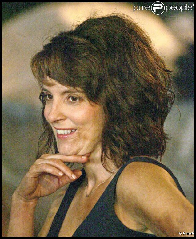 "Tina Fey tourne ""Date Night"", sous la direction de Shawn Levy, à New York, le 2 juillet 2009 !"