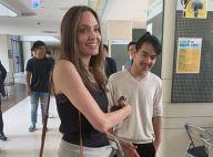 """Angelina Jolie dépose son fils Maddox en Corée : """"J'essaie de ne pas pleurer"""""""