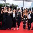 "Benoit Magimel, Clotilde Courau, Mina Farid, Rebecca Zlotowski, Zahia Dehar, Henri-Noël Tabary - Montée des marches du film ""A Hidden Life"" lors du 72e Festival International du Film de Cannes. Le 19 mai 2019 © Borde / Bestimage"