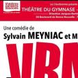 """Affiche de la pièce de théâtre """"A vrai dire"""", avec Enora Malagré"""