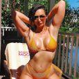 Emilie Nef Naf pose en bikini sur Instagram, le 30 juin 2019