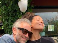 Tina Kunakey et Vincent Cassel tactiles : Sortie au restaurant en amoureux