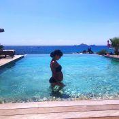 Alizée enceinte : Elle affiche son imposant baby bump sur Instagram