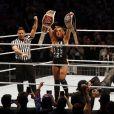 Becky Lynch à la soirée WWE Live Event à l'Accor Hotels Arena à Paris le 14 mai 2019. © Marc Ausset-Lacroix/Bestimage