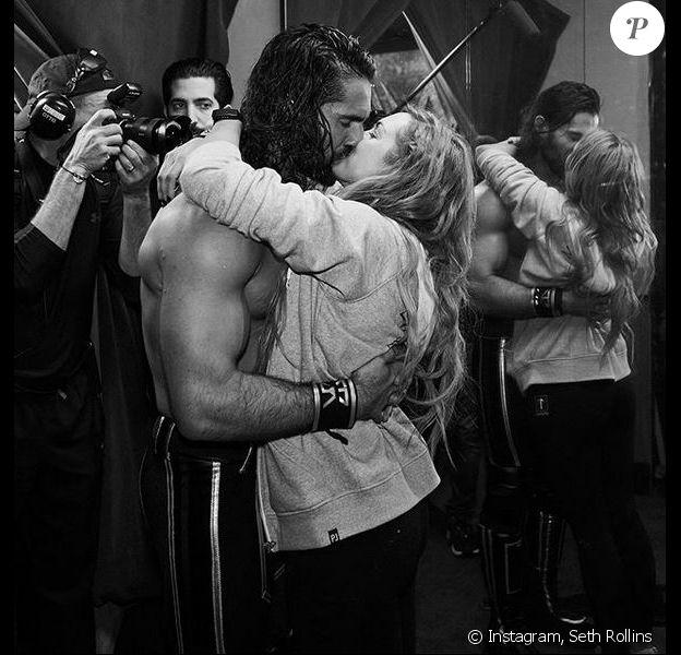 Seth Rollins et Becky Lynch. Mai 2019.