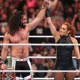 Seth Rollins et Becky Lynch. Juin 2019.