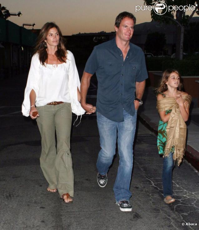 Cindy Crawford en famille à Malibu pour l'anniversaire de son fils Presley
