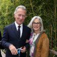 William Leymergie et sa femme Maryline - People au village des Internationaux de Tennis de Roland Garros le 26 mai 2016. © Dominique Jacovides / Bestimage