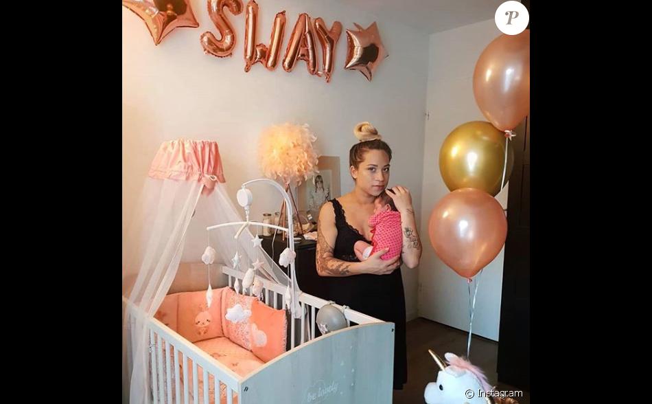 Cécilia (Koh-Lanta) révèle la signification du prénom de sa fille, Sway, sur Instagram.
