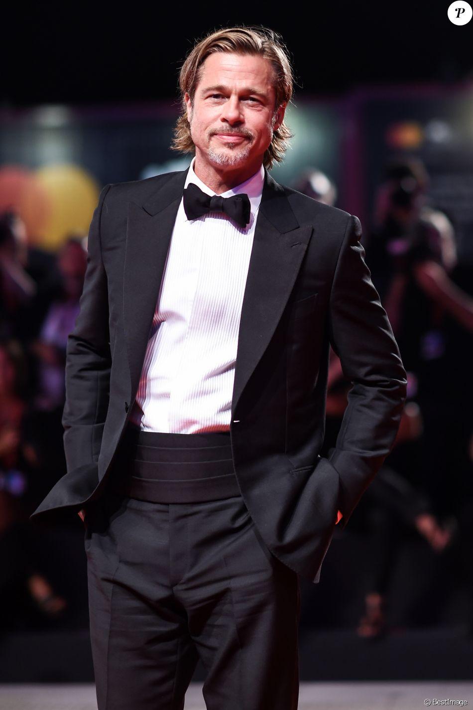 """Brad Pitt à la première du film """"Ad Astra"""" lors 76e festival du film de Venise, la Mostra, sur le Lido au Palais du cinéma de Venise, Italie, le 29 août 2019."""