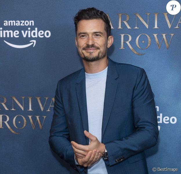 """Orlando Bloom et Cara Delevingne lors de la première de la série Amazon Prime Video """"Carnival Row"""" à Londres, le 28 août 2019.28/08/2019 - Londres"""