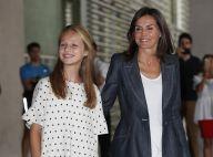 Letizia d'Espagne et la princesse Leonor : dernières visiteuses de Juan Carlos