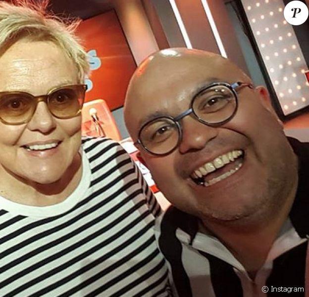 Yoann Riou et Muriel Robin en 2019.